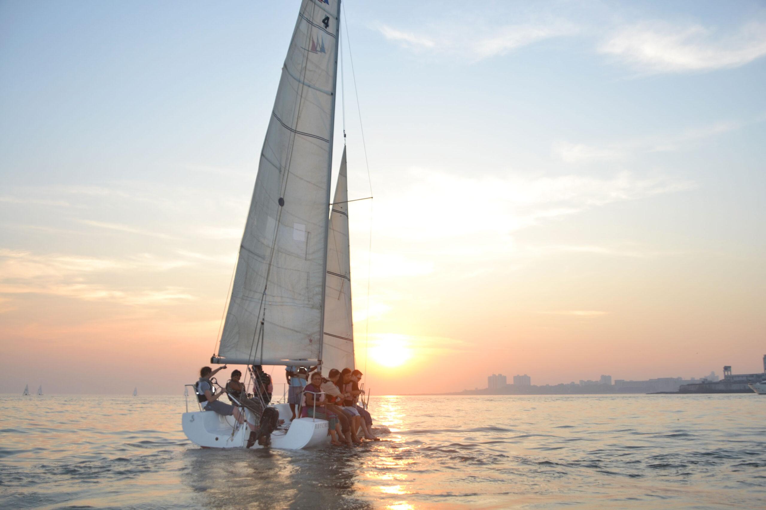 Sailing in Mumbai-sailboat-yacht