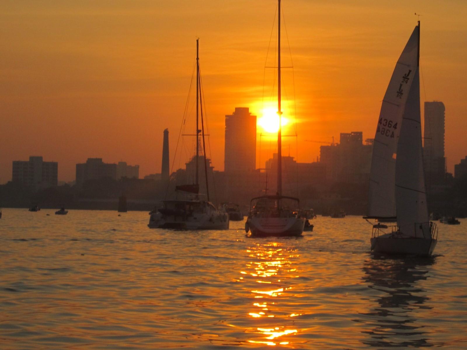Aquasail Mumbai Sunset