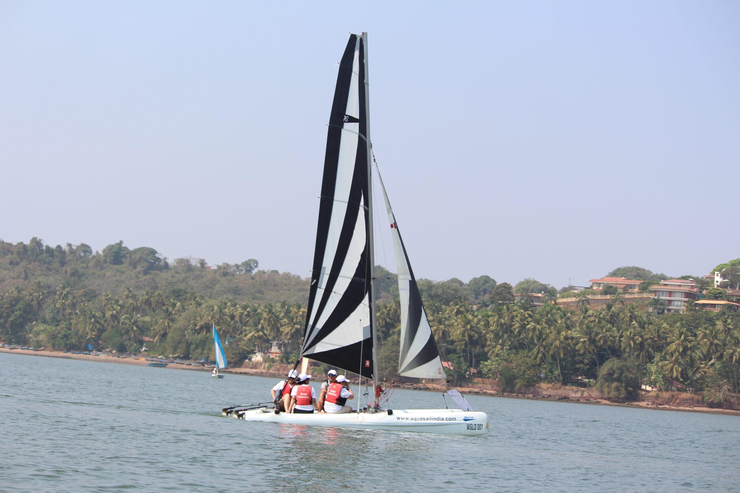Hobie dart Goa sailing